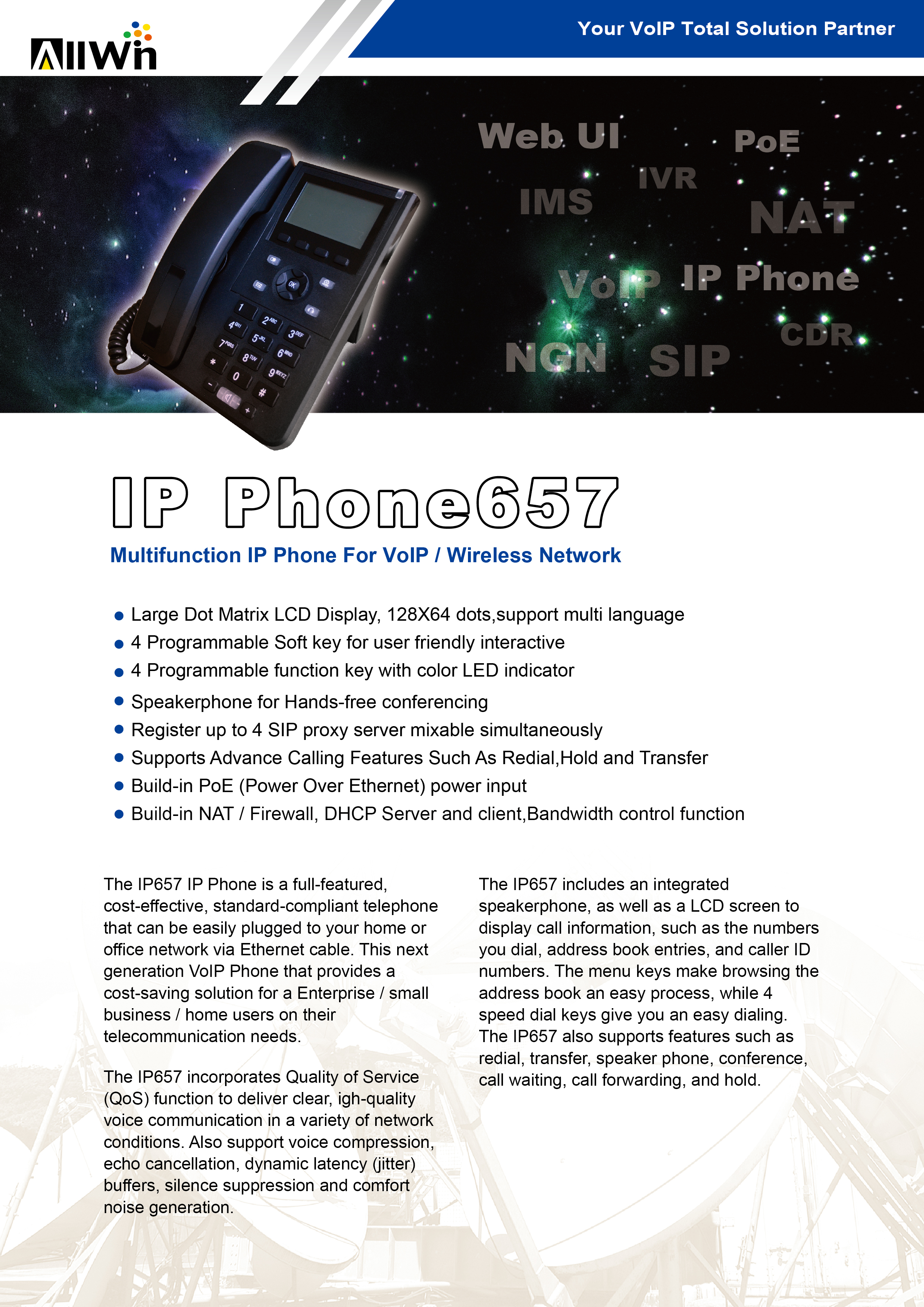 IP Phone - ALLWIN TECH